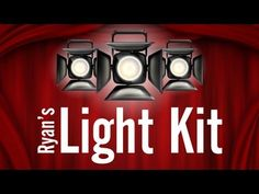 Ryan's Light Kit: Low Budget Lighting Tips For Your Videos & Films! - YouTube [purchase]