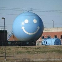 Columbia, SC - Smiley Face Water Tower