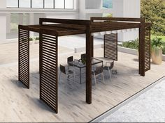 There are lots of pergola designs for you to choose from. You can choose the design based on various factors. First of all you have to decide where you are going to have your pergola and how much shade you want. Deck With Pergola, Home, Patio Decor, Pergola Garage Door, Wooden Pergola