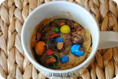 Mug cake aux M&M'S