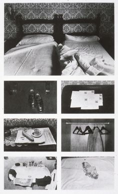 issy B - Sophie Calle The Hotel evidence that people have been there Narrative Photography, A Level Photography, Artistic Photography, White Photography, Fine Art Photography, Basquiat, Inspiration Artistique, Documentary Photography, Forensic Photography