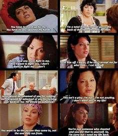 Greys Anatomy - some of Callie's finest moments Greys Anatomy Funny, Greys Anatomy Cast, Grey Anatomy Quotes, Callie Torres, Grey's Anatomy Tv Show, Grey Quotes, Dark And Twisty, Grey Stuff, Medical Drama