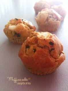 Muffins salés courgettes et feta