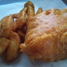 English fish and chips