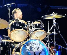 Citizen Dick's drummer has a job again! Looks like he's working for some band called Pearl Jam! I always had such a crush on him!