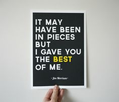 Jim Morrison Quote Print via Etsy.