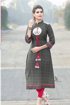 Dark-Grey-Event-Wear-Rayon-14kg-Print-Full-Length-Kurti-3024-6267 #bulk #wholesale #wholesalesupplier #wholesaledealer #bulksupplier #bulk dealer #Rayon #kurti #kurta #embroidered  #wholesaler #stylish #embroidery #kurtiwholesaler #kurtiwholesalesupplier #kurtibulksupplier #kurtibulkdealr Kurtawholesaler #suratwholesaler #richlookkurtis  #latestkurtis #long #Anaraklistyle #straight #officewear #festivalwear #Dailywear #LKFABKART