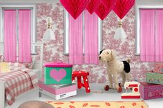 'Pink Room: A collaboration with my 4yr old' created in #neybers