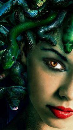 Medusa wallpaper D wallpapers Medusa Art, Medusa Gorgon, Medusa Tattoo, Greek Creatures, Fantasy Creatures, Mythical Creatures, Medusa Pictures, Dibujos Dark, Greek Mythology Art