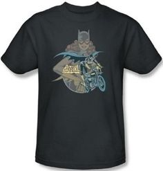 Amazon.com: DC Comics - Batgirl Biker Men's T-Shirt: Clothing