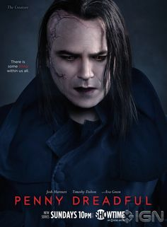 PENNY DREADFUL | season 1 | #showtime | 2014 | Rory Kinnear | #TheCreature #pennydreadful