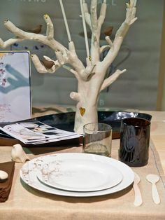 Perfect example for tree to make with candle holders
