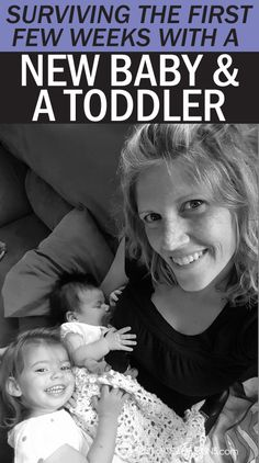 Helpful tips, tricks and product recommendations to help survive the first few weeks with a new baby and toddler under one roof!