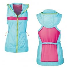 Zumba Fitness Breakout Mesh Hoodie Vest on sale at McCarley Fitness - only $19.50!