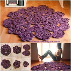 alfombra+de+trapillo+morada.jpg (600×600)