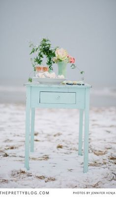 Winter Chills - Wedding Inspiration | Styled Shoots | The Pretty Blog