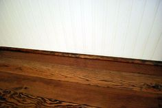 Wood counters are classic and are inexpensive. We were happy to discover that you can use tongue-and-groove flooring to create beautiful DIY wood counters. Diy Wood Counters, Wood Countertops, White Beadboard, Painting Countertops, Home Management, Tongue And Groove, Diy Flooring, Home Repair, Country Kitchen