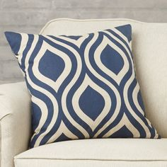 Found it at Wayfair - Brock Cotton Throw Pillow