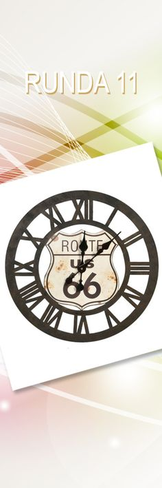 Zegar Route; Wartość: 189 zł. Poczucie stylu: bezcenne. Powyższy materiał nie stanowi oferty handlowej.