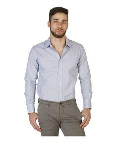 Camicia uomo  Blu VON FURSTENBERG - Autunno Inverno - titalola.com