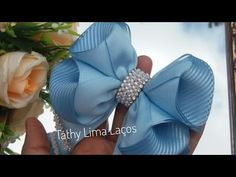 Baby Hair Accessories, Hair Bow Tutorial, Baby Hair Bows, How To Make Ribbon, Diy Bow, Hair Beads, Ribbon Hair, Diy Hairstyles, Hair Clips