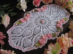 made to order crochet doily- holiday doily