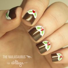christmas by thesammersaurus #nail #nails #nailart