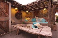 veranda lounge area