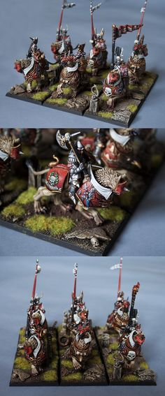 Empire DemyGryph Knights (details)