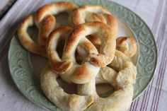 Soft baked Pretzel recipe making it Amish way