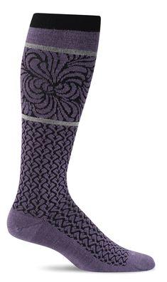 164c4fe615 Sockwell Women's Art Deco Moderate Graduated Compression Socks (15-20mmhg)