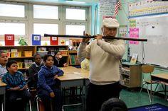 Visiting Bronx School that has embraced Brain Education.