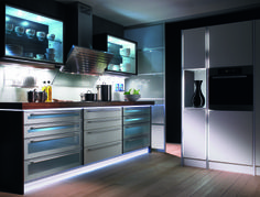 Larson are proud suppliers of Hettich Lights Walk In Wardrobe Design, Wardrobe Lighting, Modular Wardrobes, Kitchen Hardware, Bed Wall, Luz Led, Types Of Furniture, Cuisines Design, House Rooms