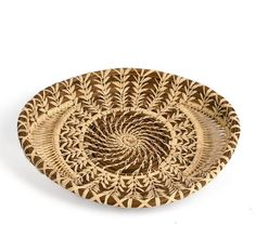 So pretty you may just want to admire it, though it's definitely made to be used. Small hand-woven Fair Trade tray from Guatemala is now available at terrestra.com