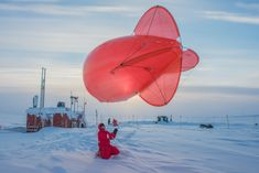 Ice Surveys and Neckties at Dinner: Here's Life at an Arctic Outpost - The New York Times We Are The World, People Of The World, Weather Balloon, Latest World News, News Latest, Time Images, Climate Change Effects, Ny Times, Our Life