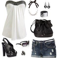 """sexy in black and white"" by deewest on Polyvore"