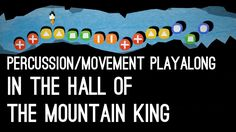 """In the Hall of the Mountain King"" Playalong for Percussion/Movement This playalong is free customizable, just link any move/sound/percussion instrument to t. Drum Lessons, Music Lessons, Halloween Music, Music Lesson Plans, Rhythm Games, Primary Music, Music Activities, Music For Kids, Elementary Music"