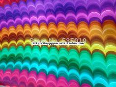Hohe qualität hochzeit maulbeerseide elastischem satin kleidung stoff designer regenbogen drucken einteiliges kleid 100% seide stoff