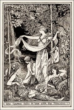 """Fordfrom """"Rübezahl"""" in The Brown Fairy BookIllustration by H. Fordfrom """"Rübezahl"""" in The Brown Fairy Book Ink Illustrations, Children's Book Illustration, Art Inspo, Fairytale Art, Fairytale Drawings, Wow Art, Black And White Illustration, Art Graphique, Fairy Art"""