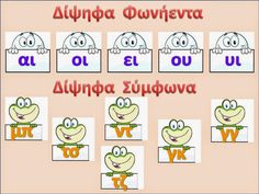 sofiaadamoubooks Teaching Methods, Teaching Resources, Kids Education, Special Education, Learn Greek, Greek Language, Greek Alphabet, Back 2 School, School Levels