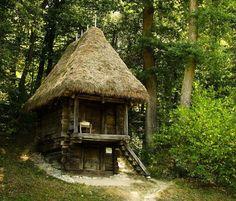 Romania traditional romanian dwelling rural romanian people Carpathians