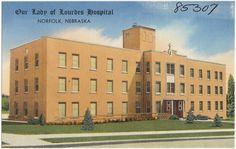 Our Lady of Lourdes Hospital, Norfolk, Nebraska | by Boston Public Library