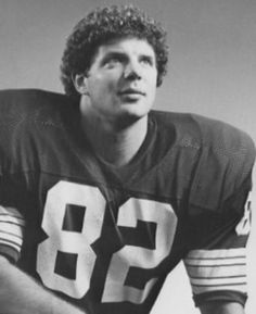 Paul Coffman played Tight End for the Pack for eight seasons (1978 to 1985)
