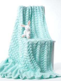 Knit Baby Blanket | Yarn | Free Knitting Patterns | Crochet Patterns | Yarnspirations