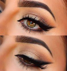 Beautiful make up for hazel eyes