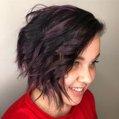 17 Short Layered Bob Haircuts Trending in 2019 - Style My Hairs Sleek Hairstyles, Cute Hairstyles For Short Hair, Short Hair Cuts For Women, Hairstyles Haircuts, Short Hair Styles, Short Layered Bob Haircuts, Bob Haircut Curly, Blonde Haircuts, Trending Haircuts