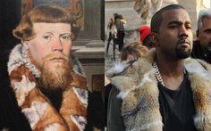 Site aponta semelhanças entre obras renascentistas e fotos de rappers