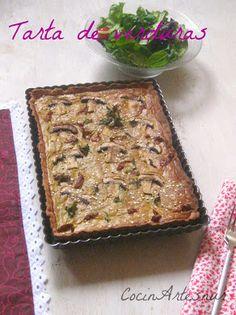Web con numerosas recetas de la dieta Montignac