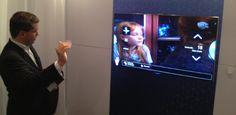 """Em junho chegarão ao Brasil novos modelos de TVs da Samsung que interagem através de comandos de voz e gestos - preços sugeridos são de R$ 6.400 para o modelo de 46"""" e R$ 9.900 para o de 55. No UOL ♦  http://cliplink.com.br/6437"""
