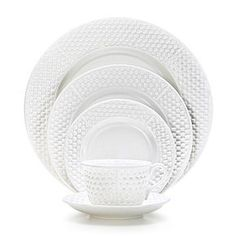 Tiffany Weave five piece place setting... just my everyday dinner ware...